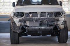 Станция ремонта автомобиля в гараже подготовила для ремонта Стоковые Изображения