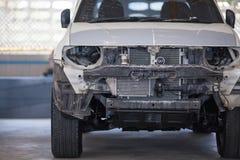 Станция ремонта автомобиля в гараже подготовила для ремонта Стоковое Изображение