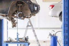 Станция ремонта автомобиля Стоковое Изображение