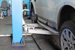 Станция ремонта автомобиля Стоковая Фотография