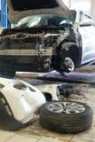 Станция ремонта автомобиля Стоковые Фотографии RF