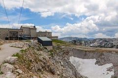 Станция саммита Dachstein стоковые фото