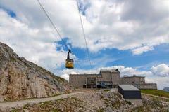Станция саммита Dachstein стоковая фотография rf