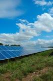станция силы солнечная Стоковое Изображение