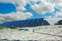 станция силы солнечная Стоковые Фотографии RF