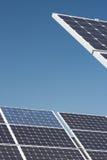 станция силы солнечная Стоковые Изображения RF