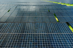 станция силы солнечная Стоковые Изображения