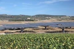 станция силы солнечная Стоковое фото RF