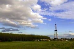 станция снаряжения исследования пущи края Стоковая Фотография
