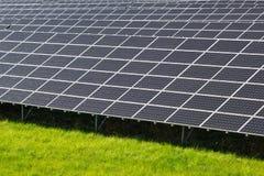 Станция солнечной энергии стоковое изображение rf