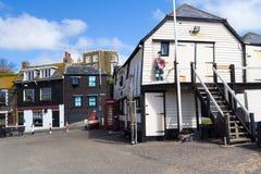 Станция спасательной шлюпки Broadstairs Стоковое фото RF