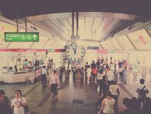 Станция Таиланд Стоковое фото RF