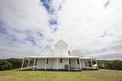 Станция телеграфа Otway накидки, большая дорога океана, Виктория, Австралия стоковые фото