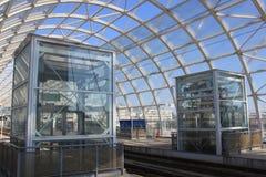Станция трама Стоковое Изображение RF