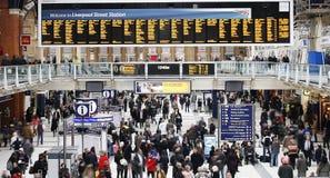 Станция улицы Ливерпул Стоковое Фото