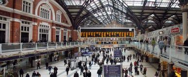 Станция улицы Ливерпуля стоковые фото