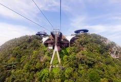 Станция фуникулера, Gunung Machinchang, Langkawi Стоковое фото RF
