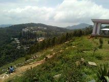Станция холма Yercaud одна из посещать станций холма в Tamil Nadu стоковое фото