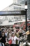 Станция цирка Оксфорда распределения газеты Стоковые Фото