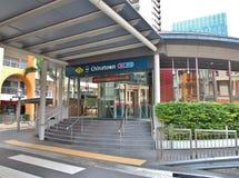 Станция Чайна-тауна - станция MRT в Сингапуре стоковое изображение rf