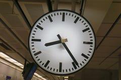 Станция часов Стоковое Изображение