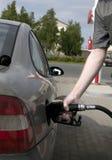 станция человека газа Стоковое Изображение RF