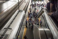 Станция Шанхая Raiway Стоковое Изображение RF