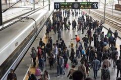 Станция Шанхая Raiway Стоковая Фотография