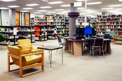 станция школы архива компьютера Стоковое фото RF