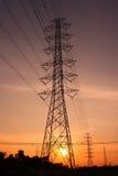станция электричества стоковые фото