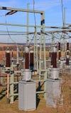 станция электричества Стоковая Фотография