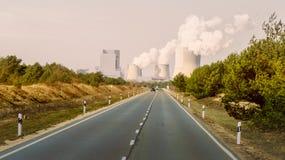 Станция энергии Стоковые Изображения RF