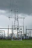Станция электрического распределения Стоковое фото RF