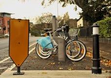 станция bike Стоковое Изображение RF