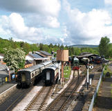 Станция Buckfastleigh Стоковое Изображение