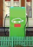 Станция chargin электрического автомобиля Стоковое фото RF