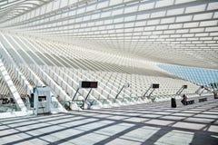 Станция Guillemins в Liège Стоковое Изображение