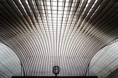 Станция Guillemins, Liege, Бельгия Стоковое Изображение RF