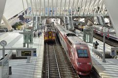 Станция liege-Guillemins Стоковое Изображение