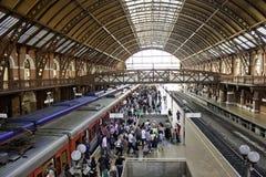 Станция Luz - São Paulo - Бразилия (последовательность 1) Стоковое Изображение RF