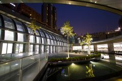 Станция MRT Тайбэя (станция парка Daan) стоковое фото