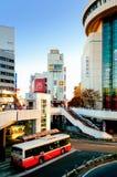 Станция Omiya в финансовом районе города Saitama, Японии Стоковая Фотография RF