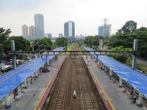 Станция Palmerah, Джакарта Стоковое Фото