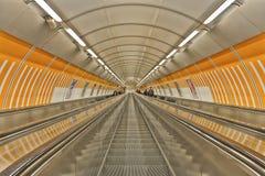 станция prague метро Стоковая Фотография