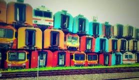 Станция Purwakarta Стоковое Изображение RF