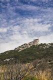 Станция raio moresca Сардинии cala marconi guglielmo Стоковые Изображения