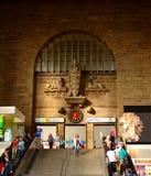 станция stuttgart центрального входа главным образом s Стоковая Фотография