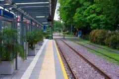 Станция Tramway стоковое изображение