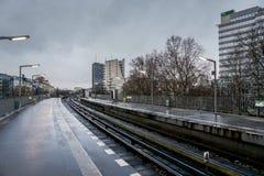 Станция U-Bahn Стоковая Фотография RF