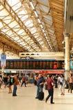 станция victoria london Стоковое Изображение RF